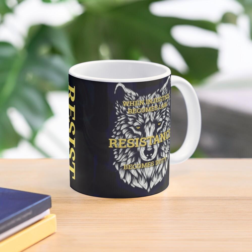 Resistance Wolf  Mug