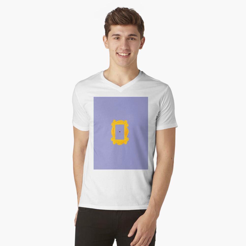 GUCKLOCH T-Shirt mit V-Ausschnitt
