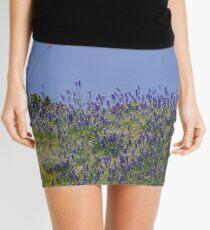 Roadrunner on Ocotillo Mini Skirt