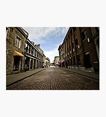 Old Montreal  Photographic Print