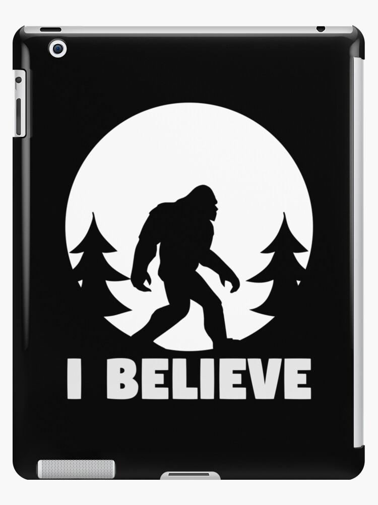 c8b2d3a18 Bigfoot T-shirt I Believe Bigfoot Sasquatch Yeti Funny Shirt by davdmark