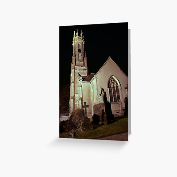 Rhu  Church and  Henry  Bell Greeting Card