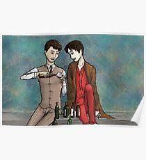 Sebastian and Charles Poster