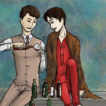 Sebastian and Charles by anico-art