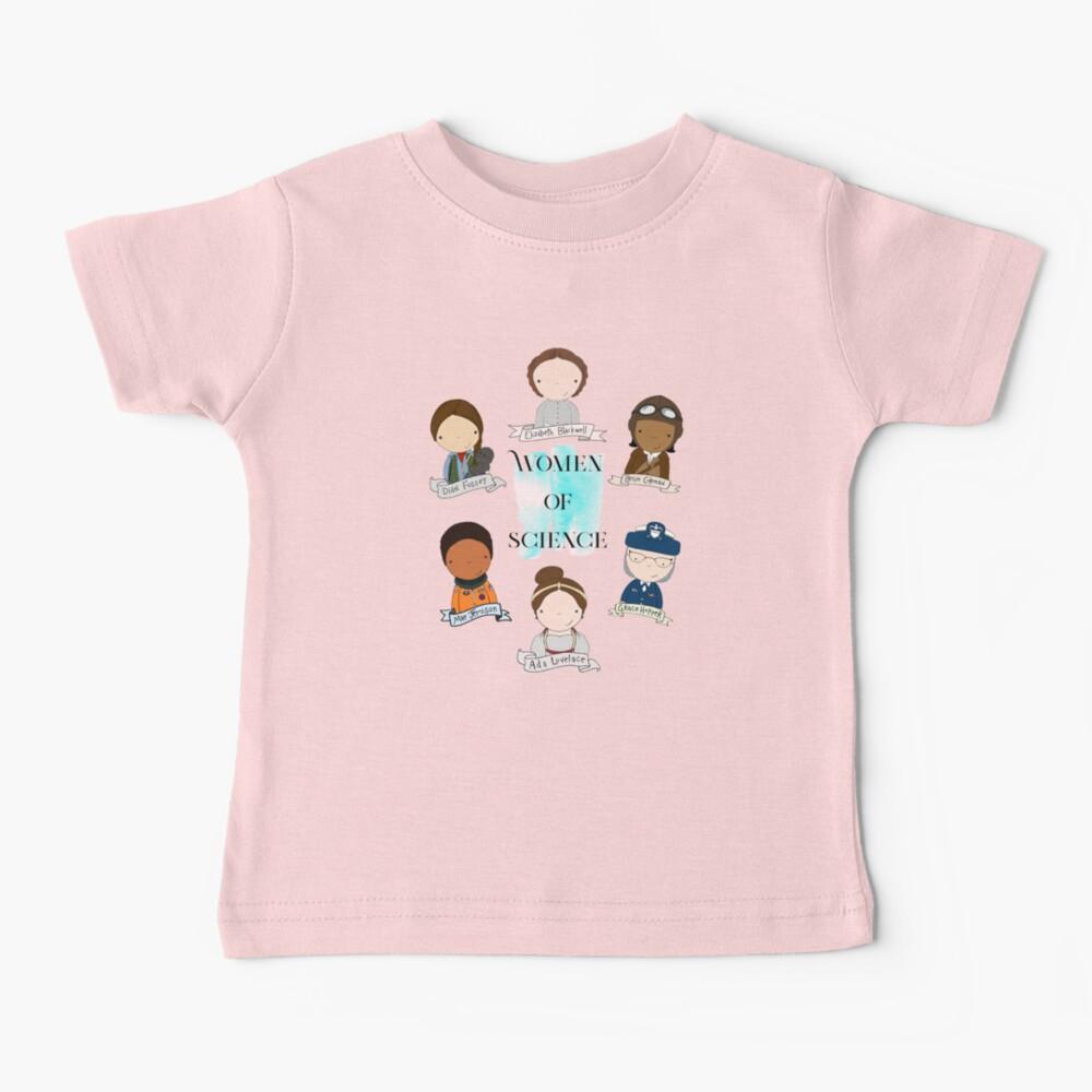 Women of Science Baby T-Shirt