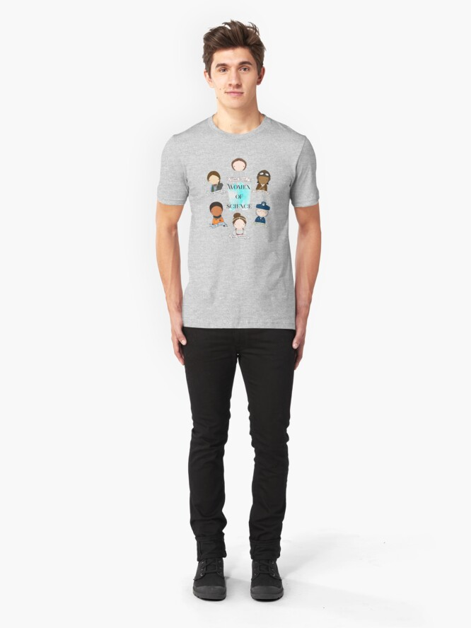 Alternate view of Women of Science Slim Fit T-Shirt