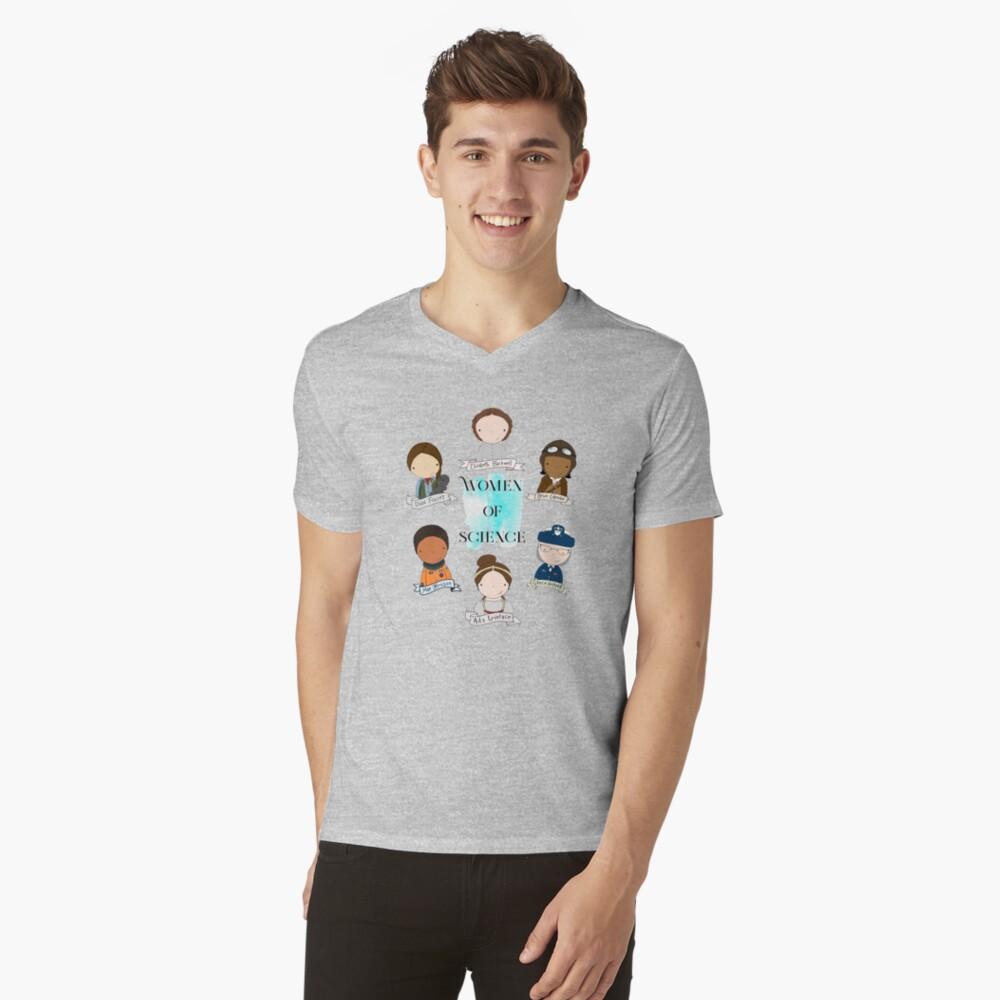 Women of Science V-Neck T-Shirt