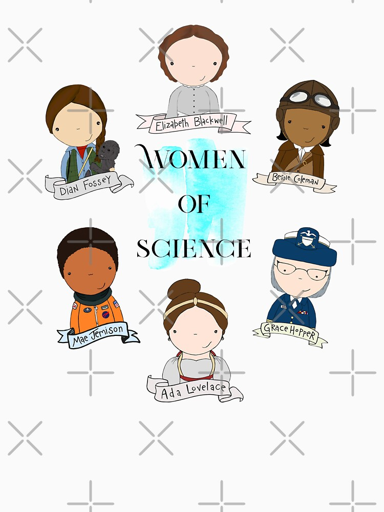 Women of Science by mimiboo