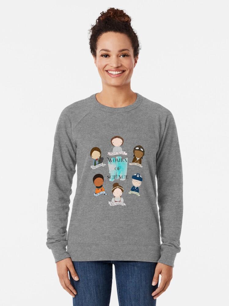 Alternate view of Women of Science Lightweight Sweatshirt