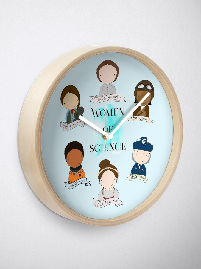 Alternate view of Women of Science Clock