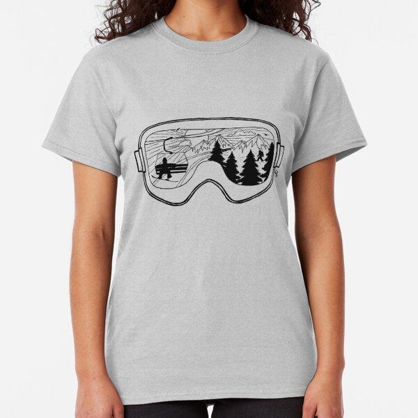 Snow Lift , Exit Left Classic T-Shirt