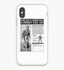 ASTRONAUT SPACE SUIT iPhone Case