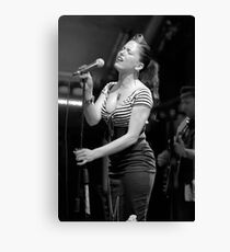 Imelda May Canvas Print