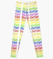 MUA Repeat - Rainbow Leggings