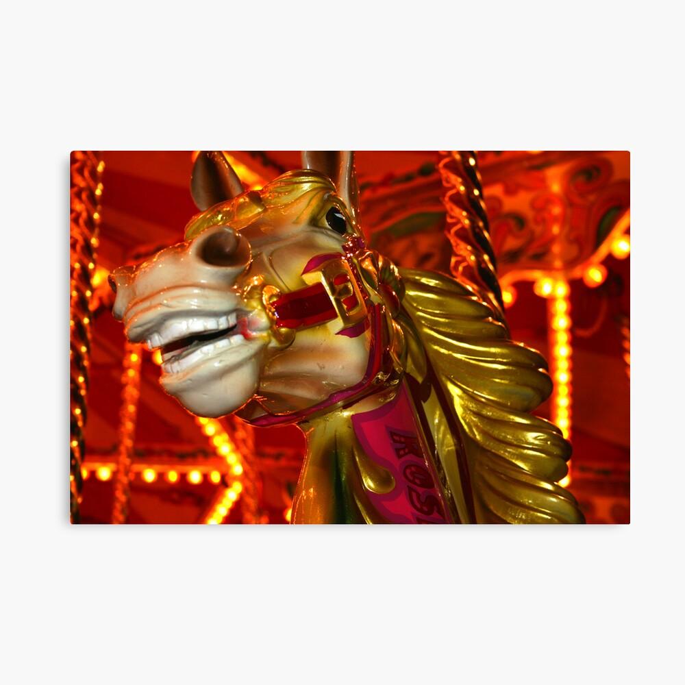 Carnival Horse Canvas Print