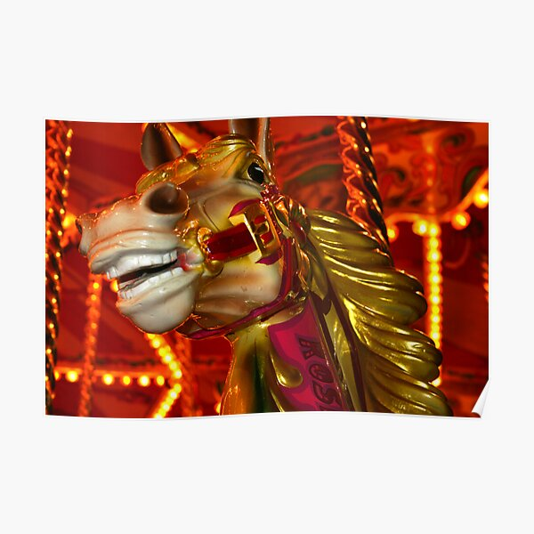 Carnival Horse Poster