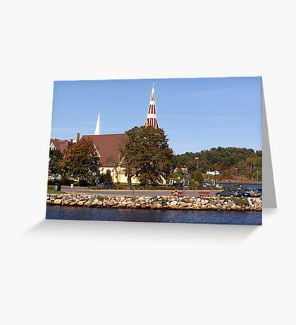 St. James Anglican Church-Mahone Bay Greeting Card