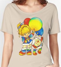 """Vintage """"Up, Up & Away"""" Rainbow Brite, Sprite, Twink, White, Colorful, Bright, Retro, Yellow, Gold, Mustard, 80's, Cartoon, Babies, Throwback, Pop Culture, My Childhood   Women's Relaxed Fit T-Shirt"""