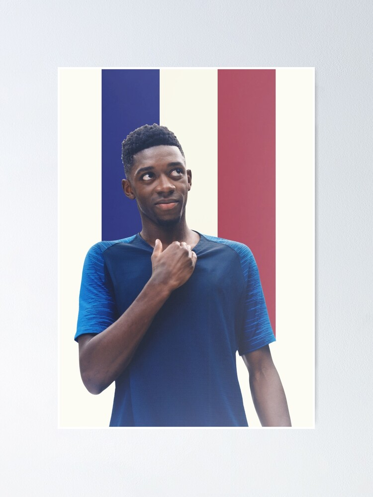 Alternate view of Ousmane Dembele  Poster