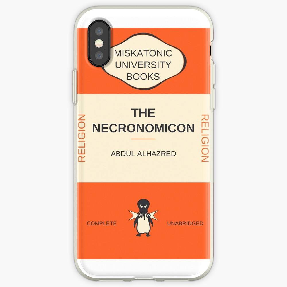 Necronomicon? Vinilos y fundas para iPhone
