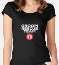 Groom Rescue Team V7 Women's Fitted Scoop T-Shirt