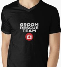 Groom Rescue Team V7 Men's V-Neck T-Shirt