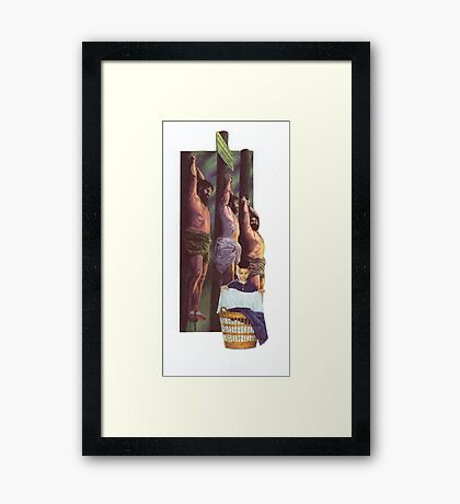 M Blackwell - Works Even On The Toughest Stains! Framed Print
