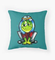 the frog Prince 00 Throw Pillow