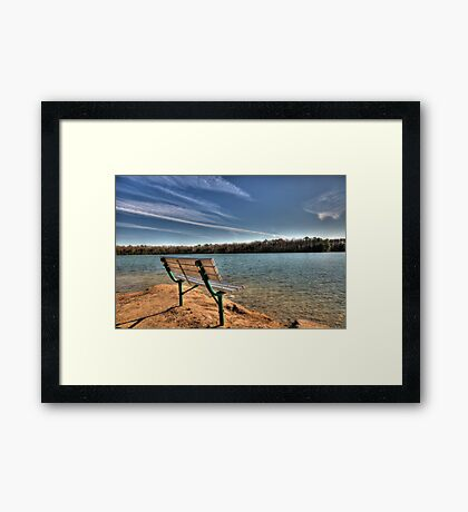 Sit and Relax Framed Print