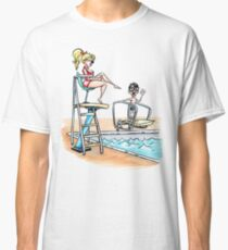 Squints and Lifeguard Wendy - Sandlot Classic T-Shirt
