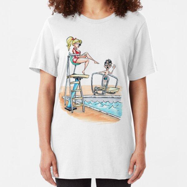 Summertime Crush Slim Fit T-Shirt