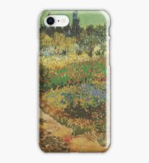 Blooming-Garden-with-Footpath,-Arles-1888 Vincent Willem van Gogh iPhone Case/Skin