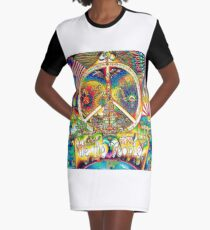 We The People Graphic T-Shirt Dress