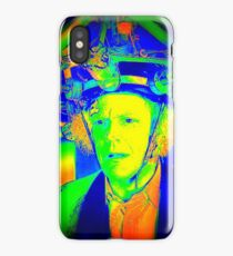 Dr. Emmett Brown (Doc Brown) - Back To The Future 2 - Scientific Insanity  iPhone Case
