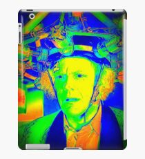 Dr. Emmett Brown (Doc Brown) - Back To The Future 2 - Scientific Insanity  iPad Case/Skin