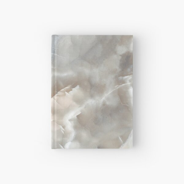 Silver and Gold Marble Hardcover Journal