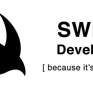 Swift developer because it's awesome by eldar