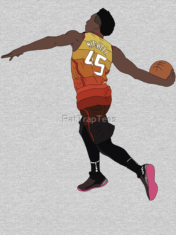 Donovan Mitchell Slam Dunk by RatTrapTees