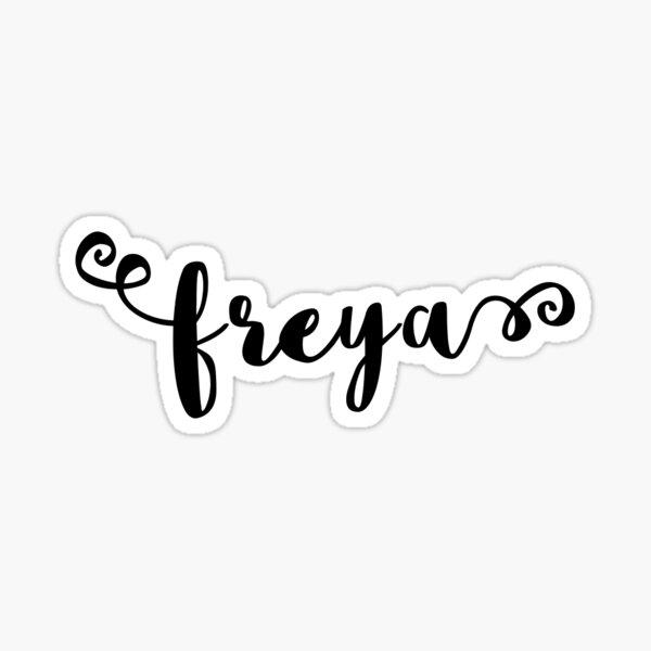 Freya Sticker