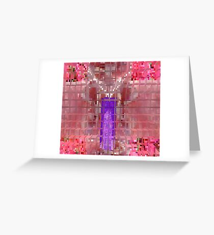 Abstracted K Greeting Card