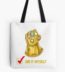 Did It Myself Tote Bag