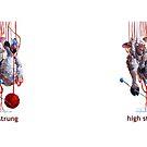 High Strung Sheep Incognito Mugs by sheepincognito