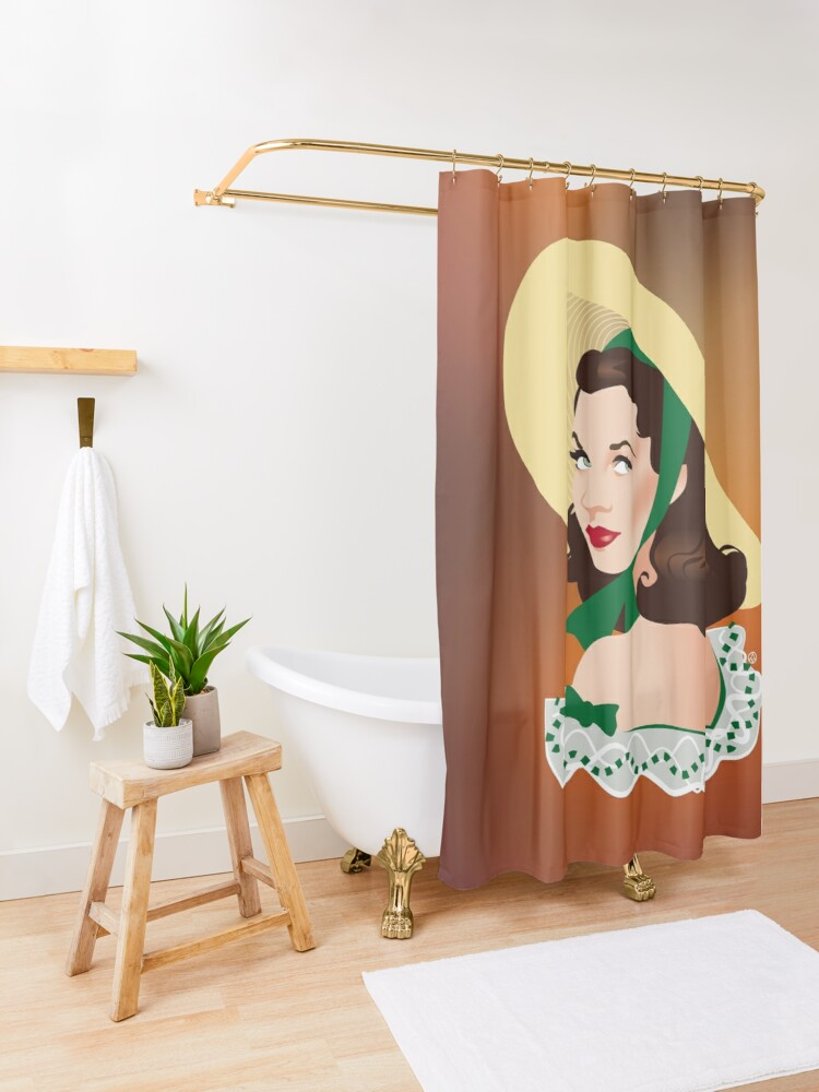 Alternate view of Barbecue Shower Curtain