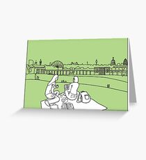 Sketches of London 'Greenwich Park' Greeting Card