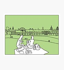 Sketches of London 'Greenwich Park' Photographic Print