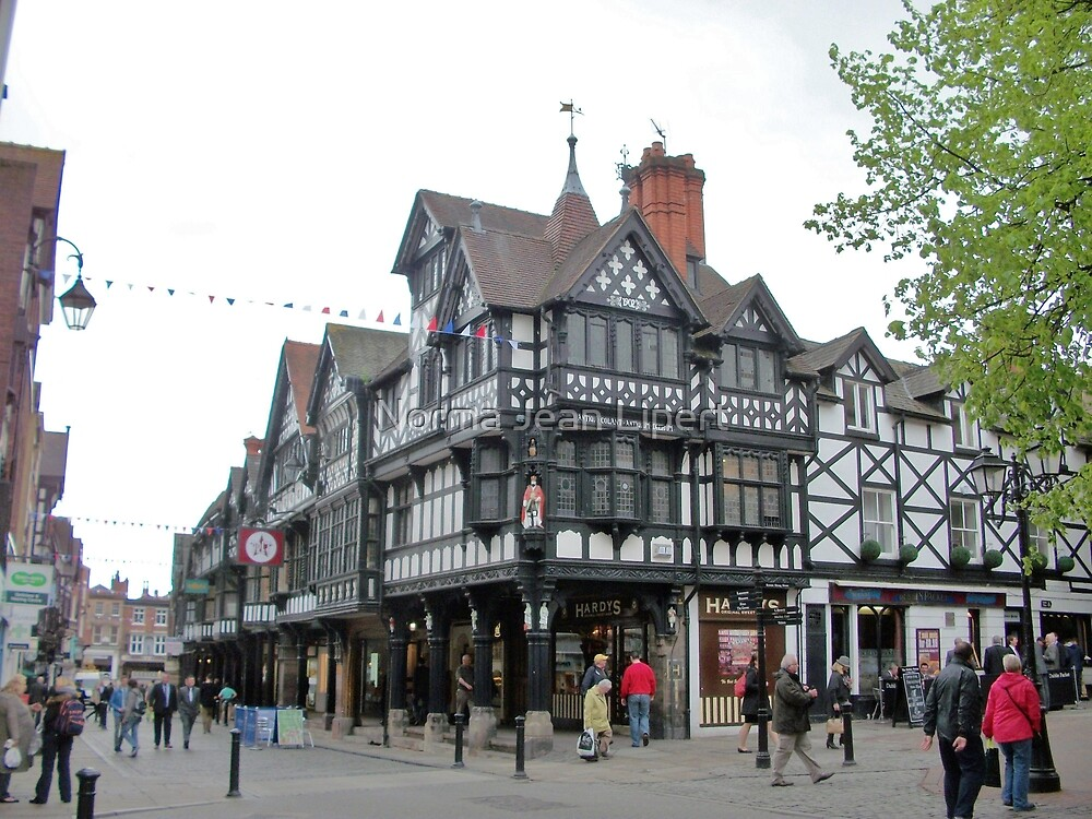 Chester, UK by Norma Jean Lipert