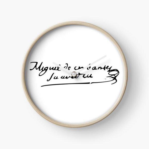 Firma Cervantes Reloj