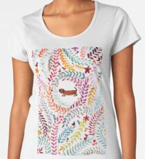 teckel love Women's Premium T-Shirt