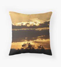 Sunset, Kingaroy Qld Throw Pillow