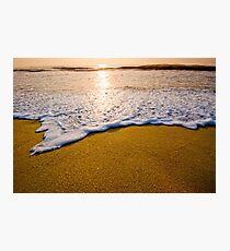 Foamy Latte Photographic Print
